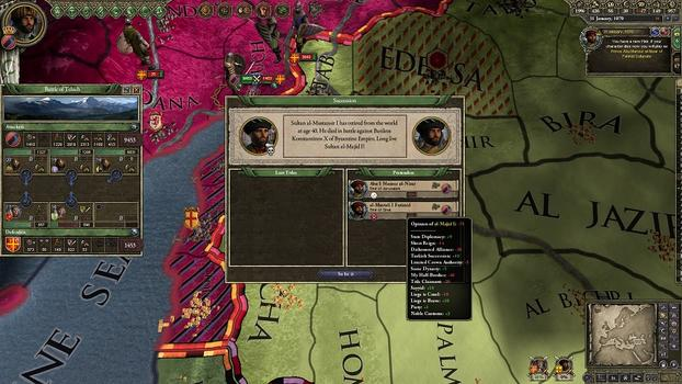 Crusader Kings II: Sword of Islam on PC screenshot #3