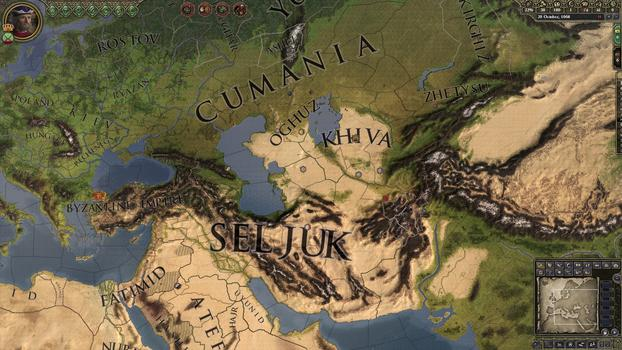 Crusader Kings II: Turkish Portraits on PC screenshot #5