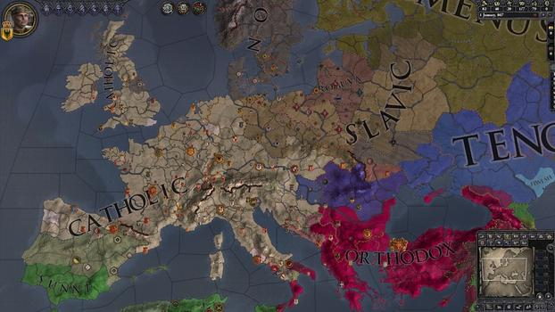 Crusader Kings II: Warriors of Faith Unit Pack on PC screenshot #1
