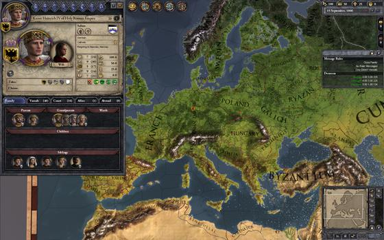 Crusader Kings II on PC screenshot #1