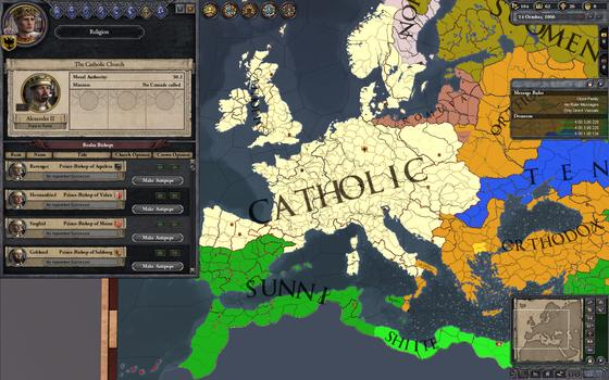 Crusader Kings II on PC screenshot #2