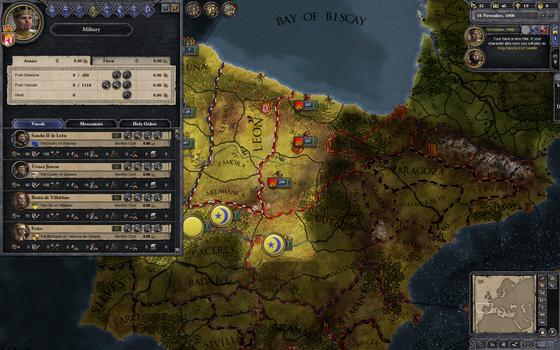 Crusader Kings II on PC screenshot #3