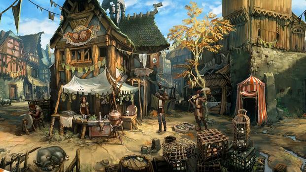 The Dark Eye: Chains of Satinav on PC screenshot #5