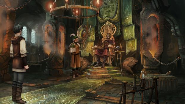 The Dark Eye: Chains of Satinav on PC screenshot #1