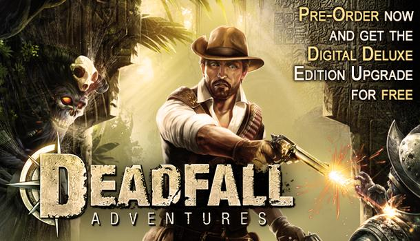 Deadfall Adventures: Digital Deluxe Edition on PC screenshot #1