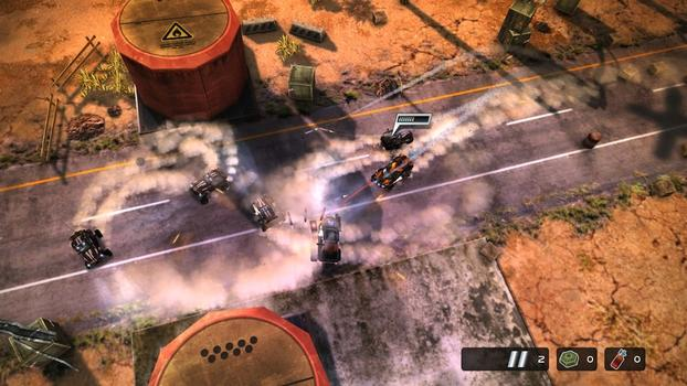 Death Rally on PC screenshot #2