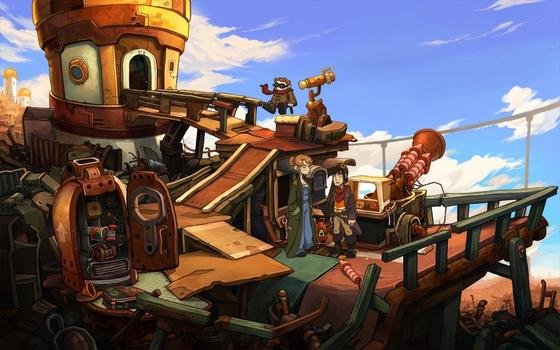 Deponia: The Complete Journey on PC screenshot #7