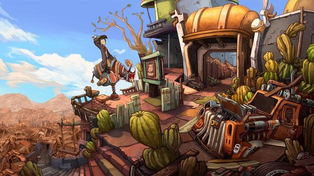 Deponia: The Complete Journey on PC screenshot #4