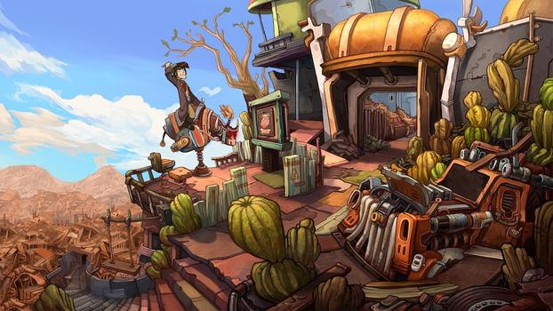 Deponia on PC screenshot #1