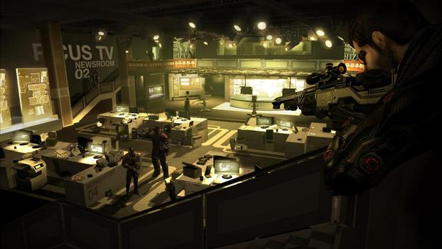 Deus Ex: Human Revolution Augmented Edition on PC screenshot #5