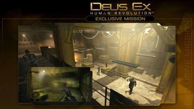 Deus Ex Human Revolution: Explosive Mission Pack on PC screenshot #1