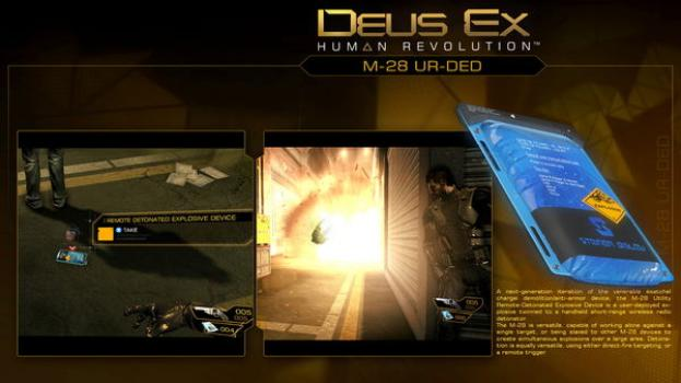 Deus Ex Human Revolution: Explosive Mission Pack on PC screenshot #4
