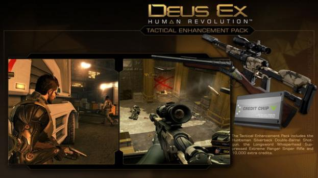 Deus Ex Human Revolution: Tactical Enhancement Pack on PC screenshot #1