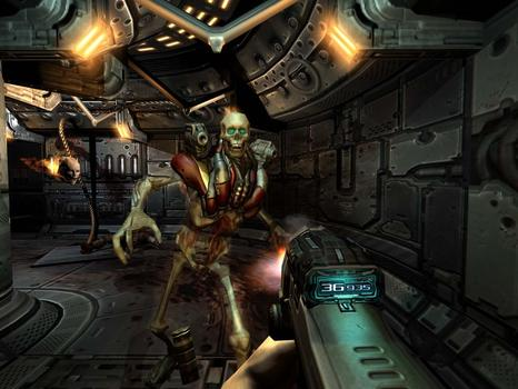 DOOM 3 on PC screenshot #1