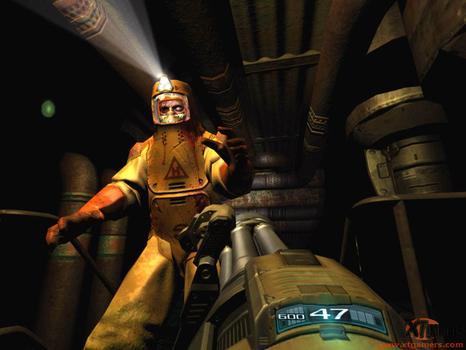 DOOM 3: Resurrection of Evil (AU) on PC screenshot #5