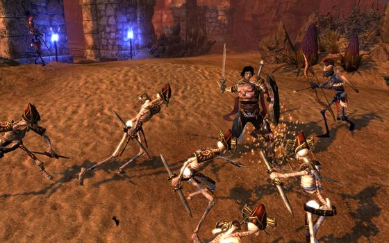 Dungeon Siege 3: Treasures of the Sun  on PC screenshot #3