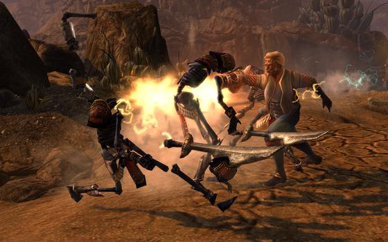 Dungeon Siege 3: Treasures of the Sun  on PC screenshot #4