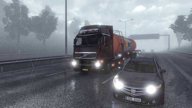 Euro Truck Simulator 2 on PC screenshot #1