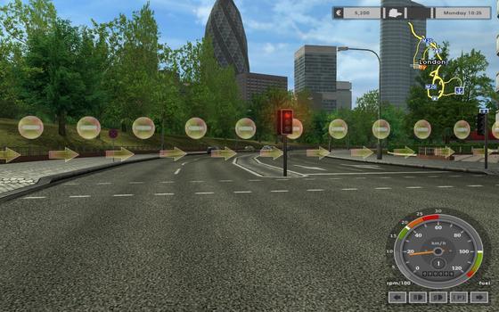 Euro Truck Simulator on PC screenshot #2
