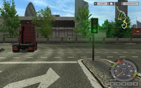 Euro Truck Simulator on PC screenshot #1