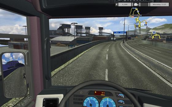 Euro Truck Simulator Gold on PC screenshot #2