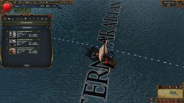 Europa Universalis IV: Muslim Advisor Portraits on PC screenshot #4