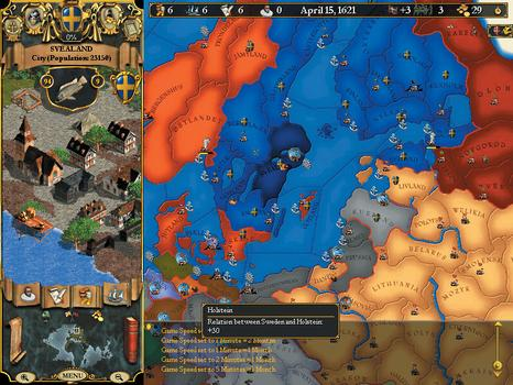 Europa Universalis II on PC screenshot #1
