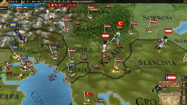 Europa Universalis III: Absolutism on PC screenshot #4