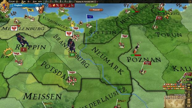 Europa Universalis III: Absolutism on PC screenshot #2