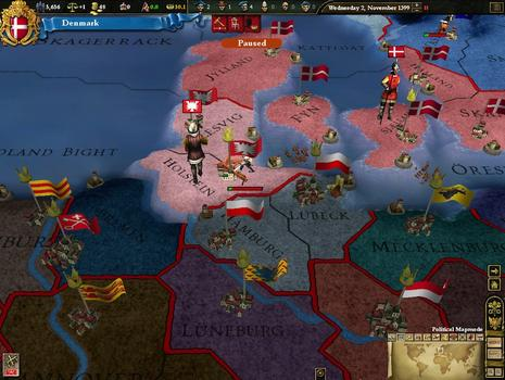 Europa Universalis III Chronicles on PC screenshot #7