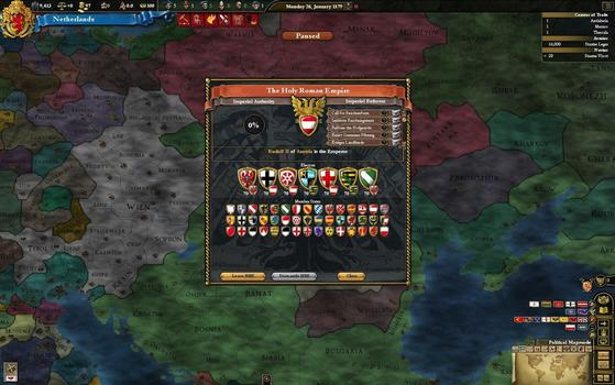 Europa Universalis III Chronicles on PC screenshot #5