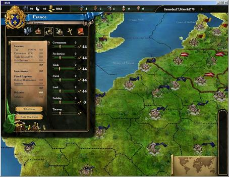 Europa Universalis III Chronicles on PC screenshot #3