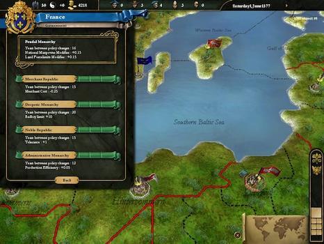 Europa Universalis III Collection on PC screenshot #3