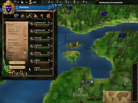 Europa Universalis III Collection on PC screenshot #2