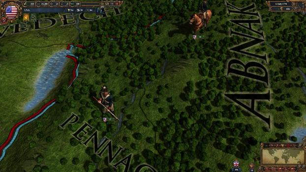 Europa Universalis IV: American Dream on PC screenshot #5