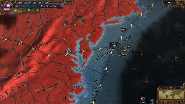 Europa Universalis IV: American Dream on PC screenshot #4