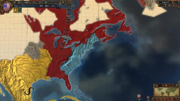 Europa Universalis IV: American Dream on PC screenshot #3