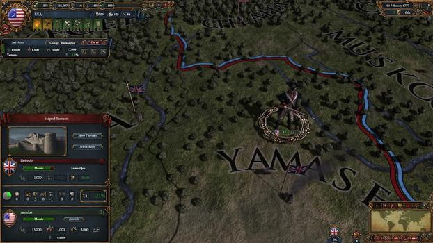 Europa Universalis IV: American Dream on PC screenshot #2