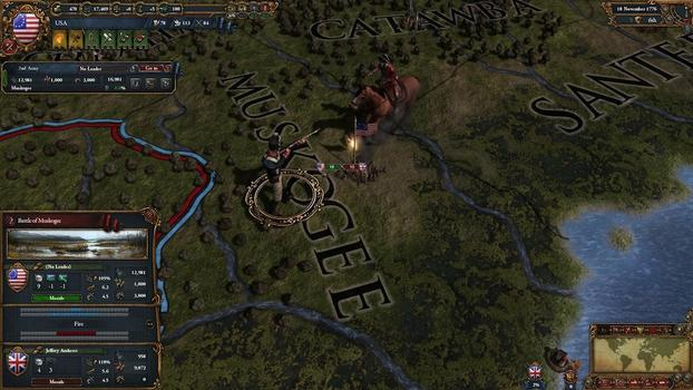 Europa Universalis IV: American Dream on PC screenshot #1