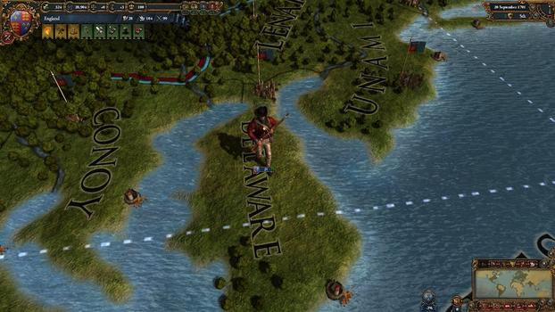 Europa Universalis IV: Colonial British and French Unit pack on PC screenshot #3