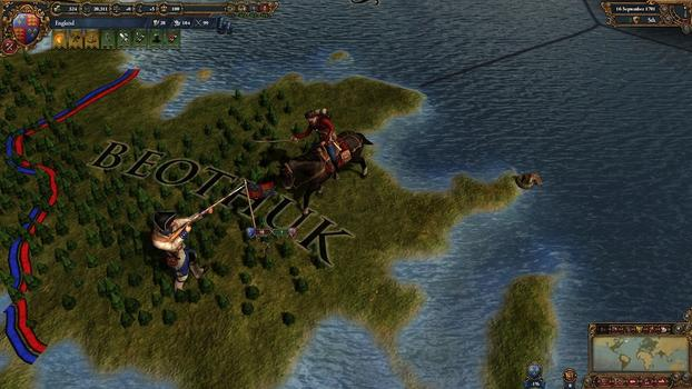 Europa Universalis IV: Colonial British and French Unit pack on PC screenshot #2