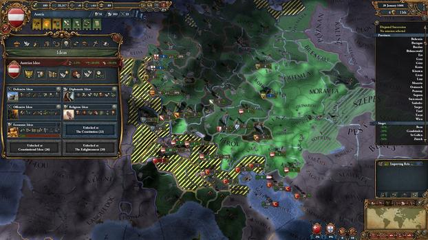 Europa Universalis IV: Conquest Collection on PC screenshot #7