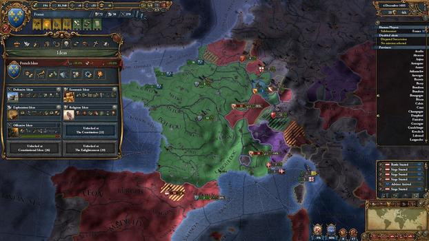 Europa Universalis IV: Conquest Collection on PC screenshot #4