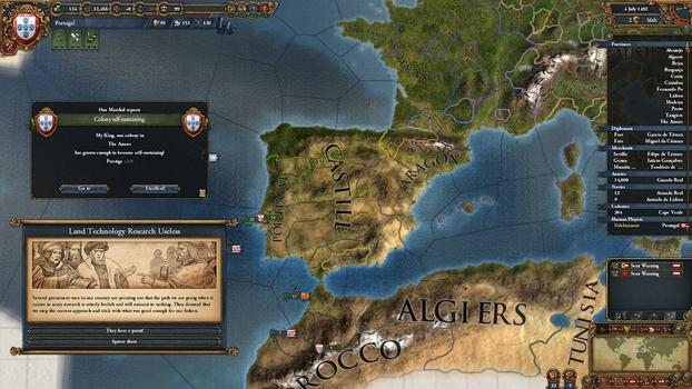 Europa Universalis IV: Conquest Collection on PC screenshot #1