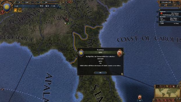 Europa Universalis IV: Conquest of Paradise on PC screenshot #7