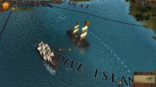 Europa Universalis IV: Indian Ships Unit Pack on PC screenshot #4
