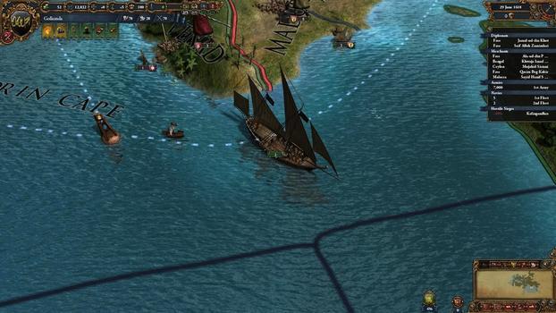 Europa Universalis IV: Indian Ships Unit Pack on PC screenshot #2