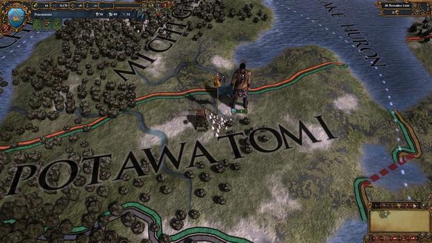 Europa Universalis IV: Native Americans II Unit pack on PC screenshot #3