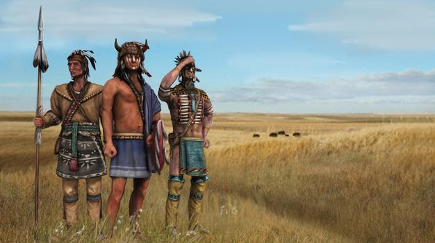 Europa Universalis IV: Native Americans Unit Pack on PC screenshot #1