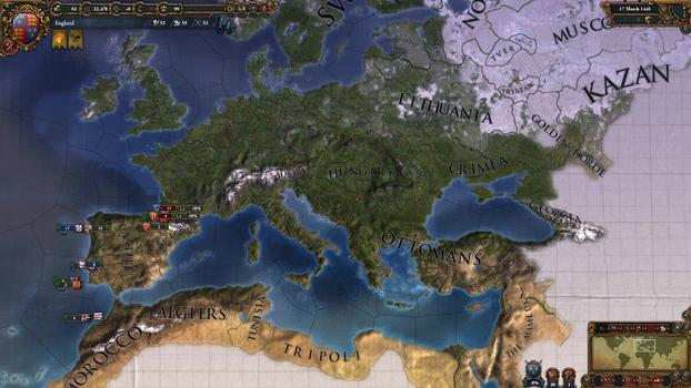 Europa Universalis IV: Pre-Order Pack on PC screenshot #6